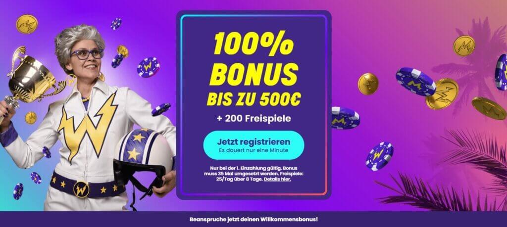 wildz bonus code 2021