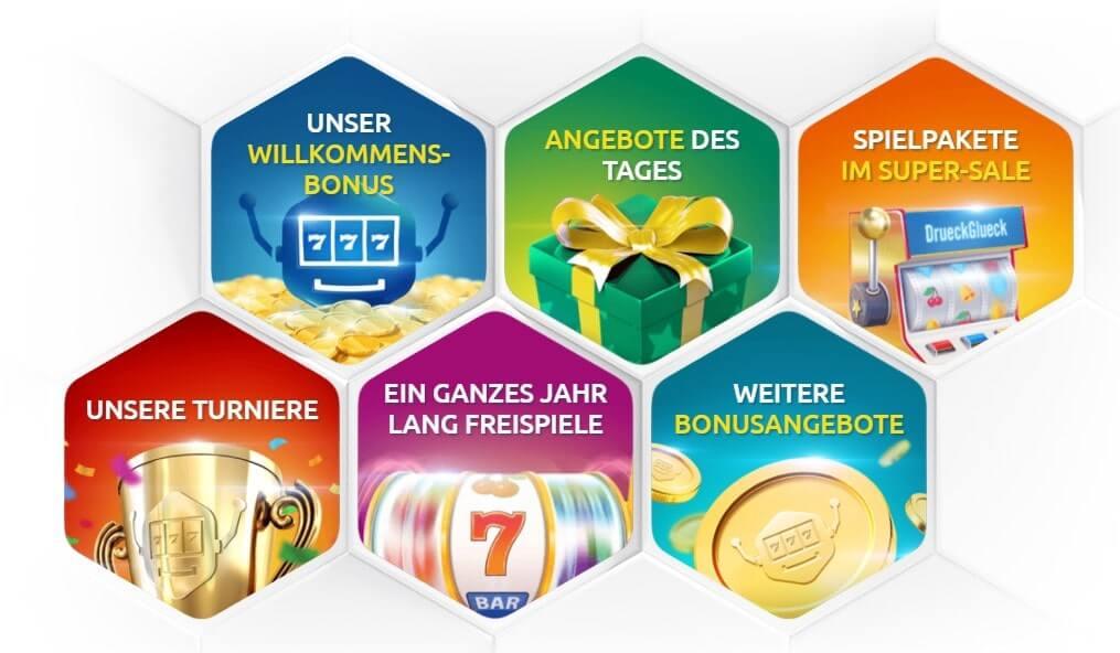 DrückGlück DE casino boni
