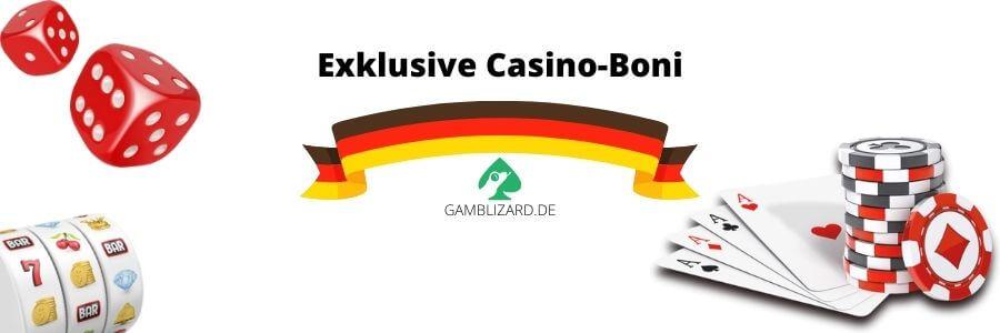 Exklusiven Casino Boni