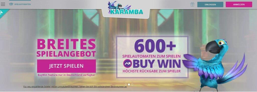 karamba casino deutschland