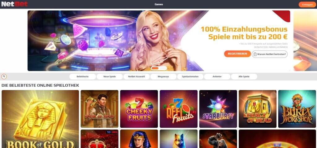 NetBet Casino Boni und Aktionen