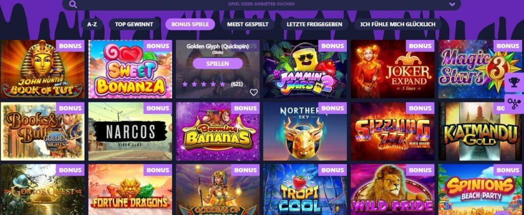 Freaky Aces Casino BONUS GAMES