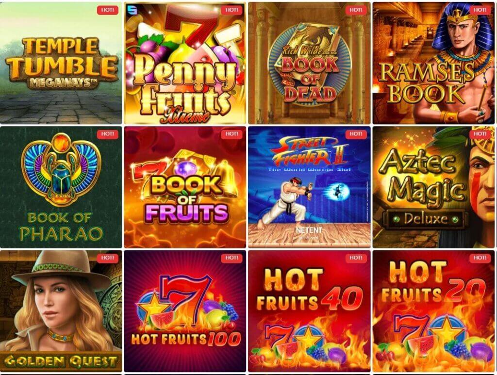 slotwolf casino slots