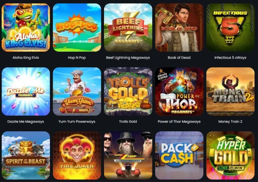 winny casino spielangebote